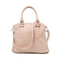 Womens 3 Zip Satchel