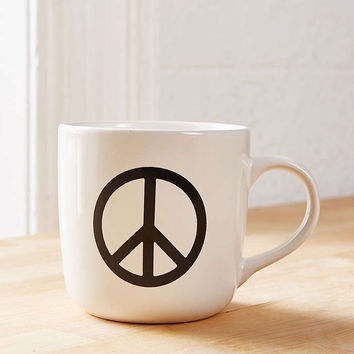 Peace Sign Mug - Urban Outfitters
