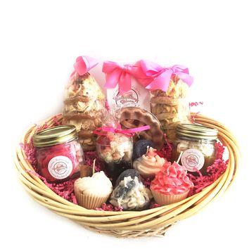 Sweet Tooth Candle Gift Basket