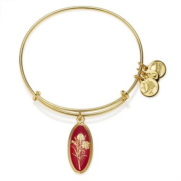 Love Potion Carnation Charm Bangle