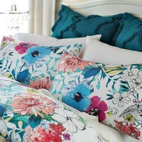 Bright Bouquet Duvet Cover + Sham