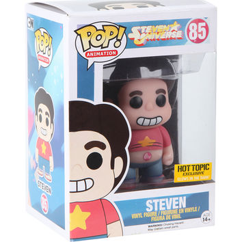 Funko Steven Universe Pop! Animation Glow-In-The-Dark Steven Vinyl Figure Hot Topic Exclusive