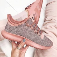 Adidas Originals Tubular Shadow Trending Women Casual Sport Running Shoe Pink Sneakers I