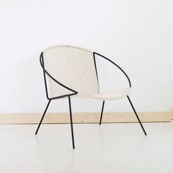 Welded Steel Frame Woven Hoop Circle Chair