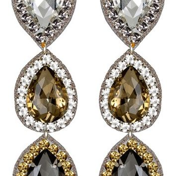 Suzanna Dai 'Murano' Triple Drop Earrings | Nordstrom
