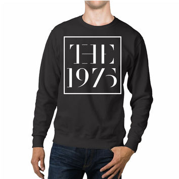 The 1975 Band Square Logo Unisex Sweaters - 54R Sweater