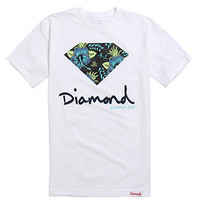 Diamond Supply Co Floral Script Logo Tee at PacSun.com