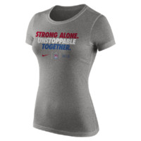 "Nike U.S. ""Unstoppable"" Women's T-Shirt Size Medium (Grey)"