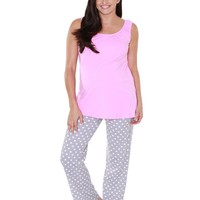 Lisa Maternity & Nursing Pajamas
