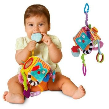 Mobile Baby Toy Plush Block - Baby Educational Toy