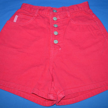 90s Bongo Neon Pink Denim Shorts Junior's 3