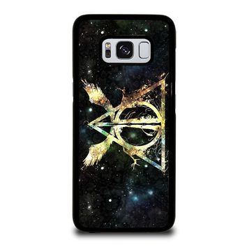 DEATHLY HALLOWS HARRY POTTER ICON Samsung Galaxy S3 S4 S5 S6 S7 S8 Edge Plus Note 3 4 5 8 Case