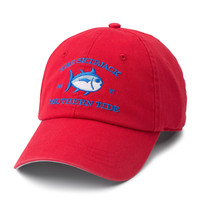 Southern Tide Washed Orignial Skipjack Hat- Red