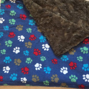 Dog Blanket,Crate Blanket,Blanket for Puppies,Pet Items,Ready to Ship Blanket
