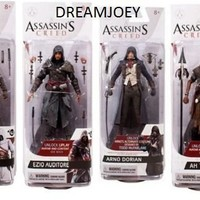 Assassin's Creed Series 3 Set of 4 Action Figures
