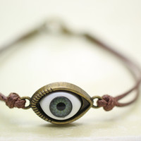 Bracelet,  eye ball bracelet, evil eye bracelet, Christams gift.