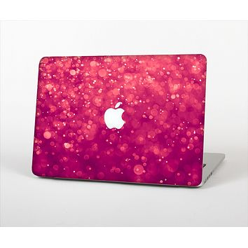 The Unfocused Pink Glimmer Skin Set for the Apple MacBook Pro 13""