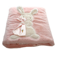Child Related My Blankie Blanket Pink Baby Plush