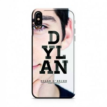Dylan O'Brien iPhone X Case