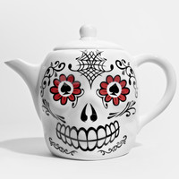 Day of the Dead Teapot