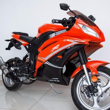 2018 x18R Super Pocket Bike - 50cc 100cc With Upgrade  Automatic (Orange)