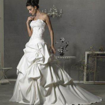 Wedding Dress by EvansDreamDress on Sense of Fashion