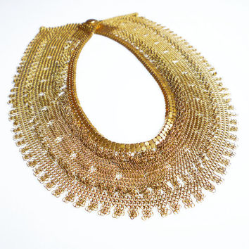 Shop Egyptian Collar Necklace Jewelry on Wanelo