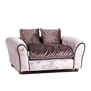 Keet Westerhill Pet Sofa Bed, Charcoal, Small