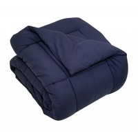 DOWN ALTERNATIVE COMFORTER/ DUVET COVER INSERT - 420 GSM OVERFILLED - NAVY