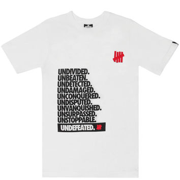 Undefeated - Undivided T-Shirt (White)