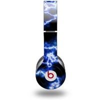 WraptorSkinz Electrify Skin for Beats Solo HD Headphones, Blue