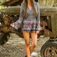 Belle of the Fall Romper
