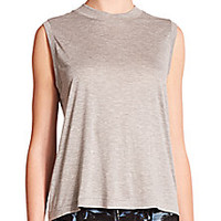T by Alexander Wang - High Neck Tank - Saks Fifth Avenue Mobile