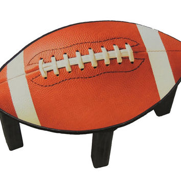 Childrens stool. Football chair for kids.