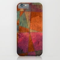 Baroque Cubism iPhone & iPod Case by Tony Vazquez
