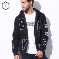 Men's Fashion Winter England Style Embroidery Long Sleeve Hoodies [8822203459]