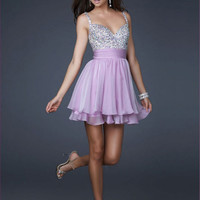 New Pink Short Party Cocktail Chiffon Homecoming Bridesmaid Prom Evening Dresses