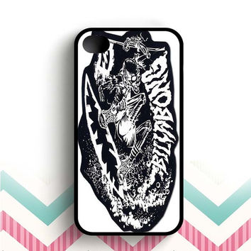 billabong surf skull  iPhone 4 and 4s case