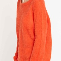 Selected Femme Claudia Jumper in Red - Urban Outfitters