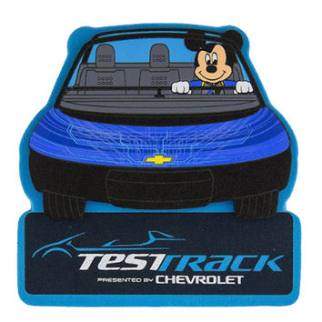 disney parks mickey test track by chevrolet antenna car pen pencil topper new