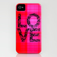 Love_Pink iPhone Case by Garima Dhawan | Society6