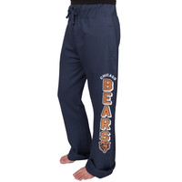 Chicago Bears Junk Food Women's Boyfriend Fleece Pant - Navy Blue