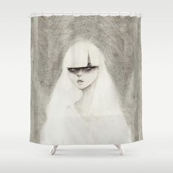 From the Other Side Shower Curtain by Ben Geiger