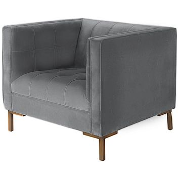 Odin Velvet Club Chair II