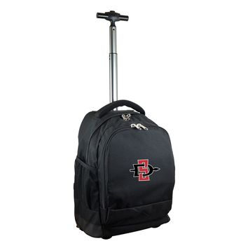 San Diego State Aztecs Wheeled Premium Backpack