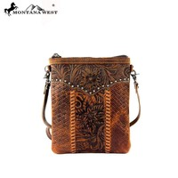 Montana West RLC-L007 100% Real Leather Crossbody