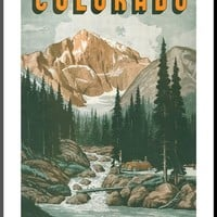 Colorado Travel Poster Posters at AllPosters.com