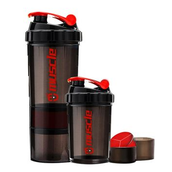 New!! Hot Protein powder shaker fitness bottle