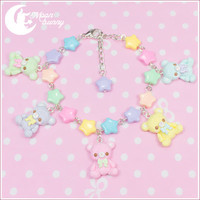 Rainbow bears parade Bracelet