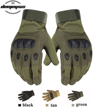 Outdoor Military Tactical Gloves Full Finger  Winter Sports Cycling Bike Gloves Anti-slip Tactical   Airsoft Hunting Gloves